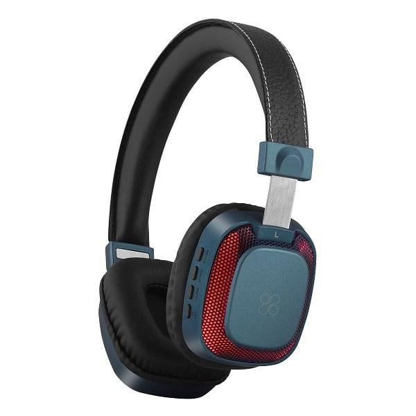 Casti PROMATE Melody-BT, Bluetooth, On-Ear, Microfon, albastru