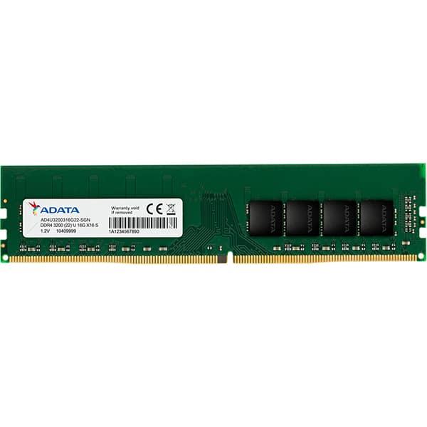 Memorie desktop ADATA Premier, 16GB DDR4, 3200MHz, CL22, AD4U3200716G22-SGN