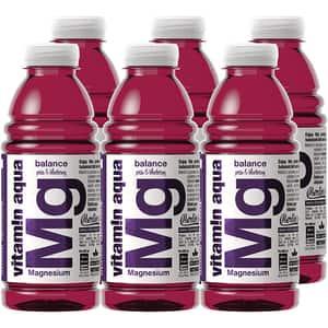 Apa cu vitamine MG VITAMIN AQUA Pear&Blueberry bax 0.6L x 6 sticle