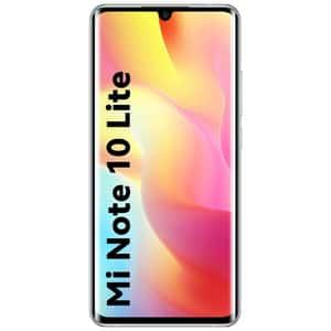 Telefon XIAOMI Mi Note 10 Lite, 64GB, 6GB RAM, Dual SIM, Glacier White