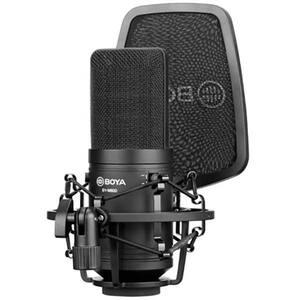 Microfon condensator BOYA BY-M800, XLR, negru