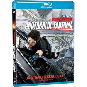 Misiune: Imposibila 4 - Protocolul fantoma Blu-ray