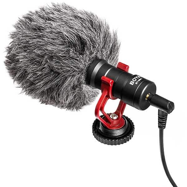 Microfon condensator BOYA BY-MM1, TRS, negru