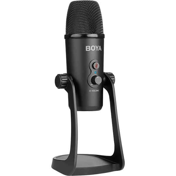 Microfon condensator BOYA BY-PM700, MicroUSB, negru