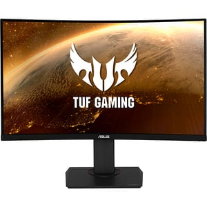 """Monitor Gaming curbat LED VA ASUS TUF VG32VQ, 31.5"""", WQHD, 144Hz, FreeSync, negru"""