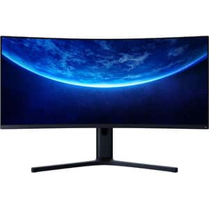 "Monitor Gaming curbat LED SVA XIAOMI Mi, 34"", UWQHD, 144Hz, FreeSync, negru"