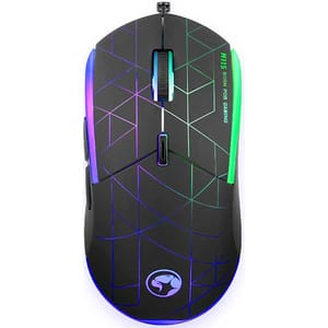 Mouse Gaming MARVO M115, 4000 dpi, negru