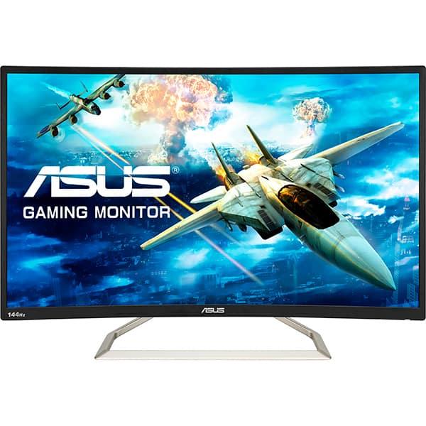 """Monitor Gaming curbat LED VA ASUS TUF VA326HR, 31.5"""", Full HD, 144Hz, negru"""