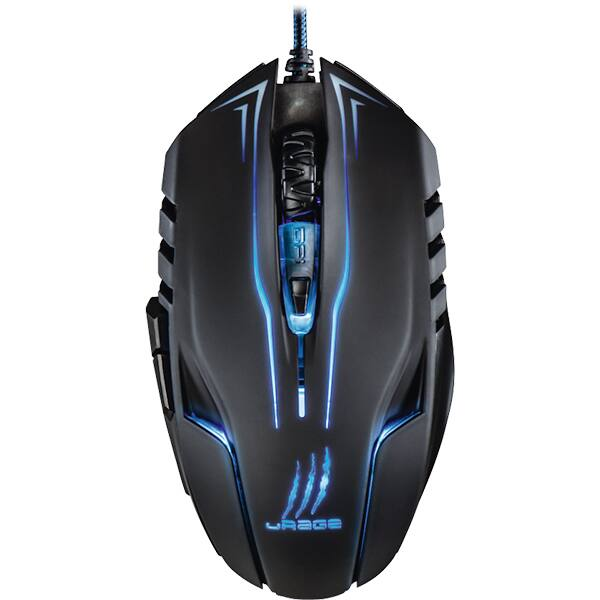 Mouse Gaming HAMA uRage Reaper ESS, 2400 dpi, negru