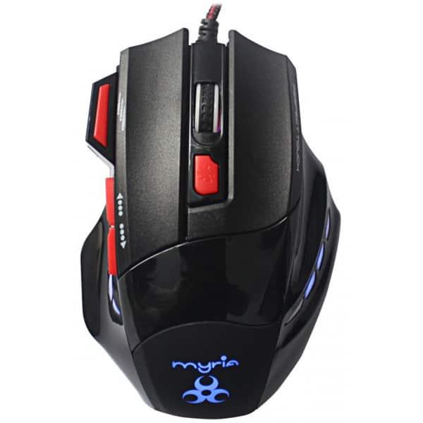 Mouse Gaming MYRIA MG7512, 4000 dpi, negru