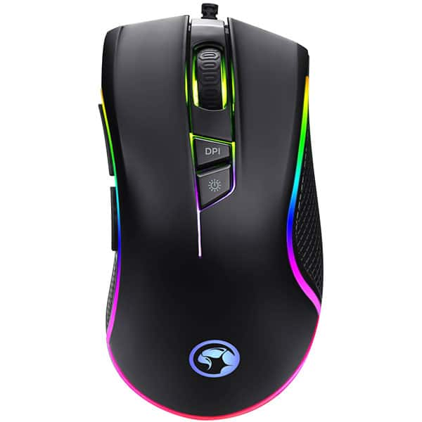 Mouse Gaming MARVO G917, 10000 dpi, negru