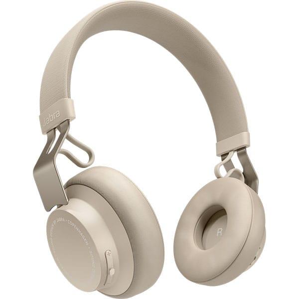 Casti JABRA Move Style, Bluetooth, On-Ear, Microfon, Noise Cancelling, bej