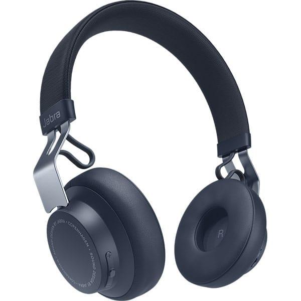 Casti JABRA Move Style, Bluetooth, On-Ear, Microfon, Noise Cancelling, bleumarin