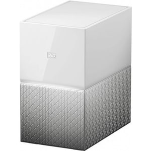 Network Attached Storage WD My Cloud Home Dual Drive WDBVXC0080HWT, 8TB, alb