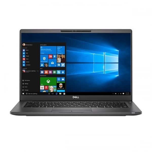 "Laptop DELL Latitude 7400, Intel Core i7-8665U pana la 4.8GHz, 14"" Full HD, 8GB, SSD 512GB, Intel UHD Graphics 620, Windows 10 Pro, gri"