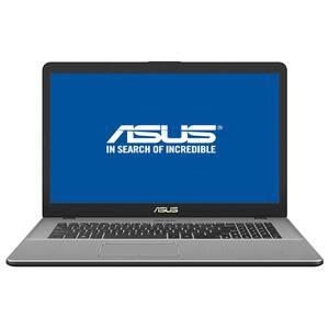 "Laptop ASUS VivoBook Pro N705FD-GC020, 17.3"" Full HD, Intel Core i7-8565U pana la 4.6GHz, 8GB, HDD 1TB + SSD 128GB, NVIDIA GeForce GTX 1050 4GB, Endless, gri metalic"