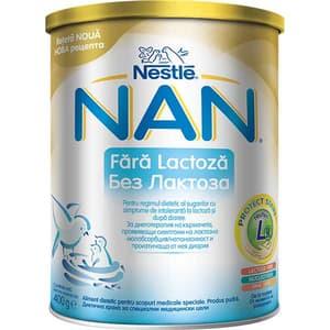 Lapte praf NESTLE NAN Fara Lactoza 12306219, 0 luni+, 400g