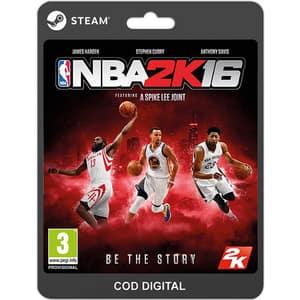 NBA 2K16 PC (licenta electronica Steam)