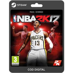 NBA 2K17 PC (licenta electronica Steam)