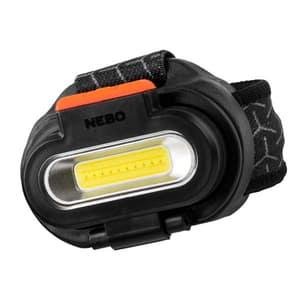 Lanterna LED frontala NEBO Einstein 1500 Flex, 1500 lumeni, Acumulator 2200mAh, negru