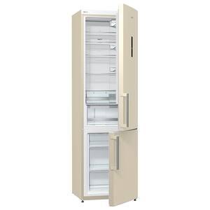 Combina frigorifica GORENJE NRK6201MC-0, No Frost Plus, 339 l, H 200 cm, Clasa A+, bej