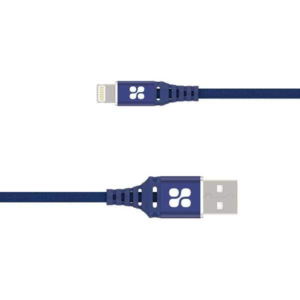 Cablu date PROMATE NerveLink-i2, Lightning, 2m, albastru