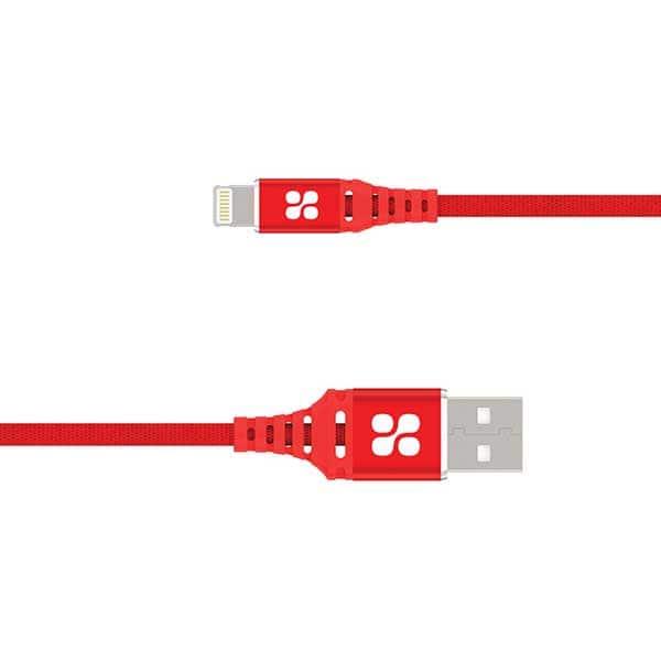 Cablu date PROMATE NerveLink-i2, Lightning, 2m, rosu