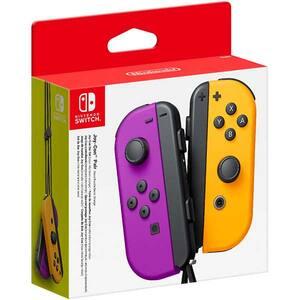Set Controller Joy-Con NINTENDO Switch, neon purple-orange