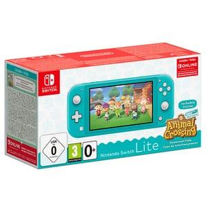 Consola portabila Nintendo Switch Lite Animal Crossing, turquoise