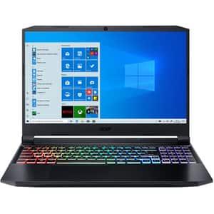 "Laptop Gaming ACER Nitro 5 AN515-45-R8CV, AMD Ryzen 7 5800H pana la 4.4GHz, 15.6"" Full HD, 16GB, SSD 1TB, NVIDIA GeForce RTX 3070 8GB, Windows 10 Home, negru"