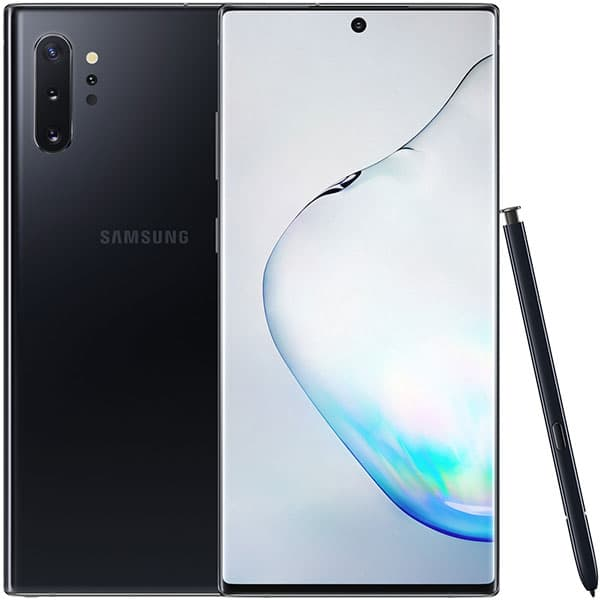 "SAMSUNG Galaxy Note 10+, 6.8"", 256GB, 12GB RAM, Dual SIM, 4G, Aura Black"
