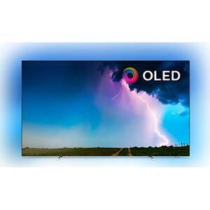 Televizor OLED Smart PHILIPS 65OLED754/12, Ultra HD 4K, HDR, Ambilight, 164 cm