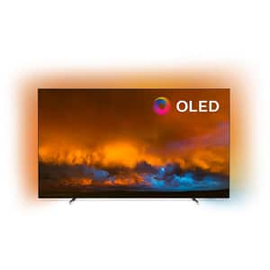 Televizor OLED Smart PHILIPS 65OLED804/12, Ultra HD 4K, HDR, Ambilight, 164 cm