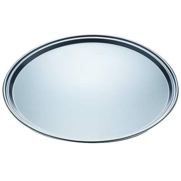 Tava de pizza MYRIA MY4195, 32.5cm, argintiu