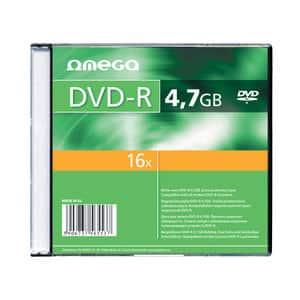 DVD+R OMEGA OM020101, 16x,  4.7GB, 10 buc