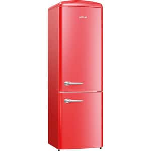 Combina frigorifica GORENJE Retro ORK192RD, 322 l, H 194 cm, Clasa A++, rosu