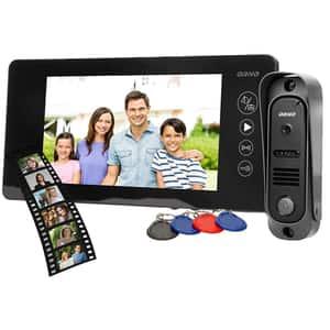 Interfon video cu fir ORNO OR-VID-JS-1053/B,LCD, 7 inch, negru