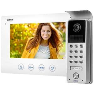 Interfon video cu fir ORNO OR-VID-ME-1056/W,LCD, 7 inch, IR, Night Vision, alb-gri