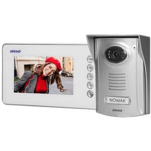 Interfon video cu fir ORNO OR-VID-SU-1058/W,LCD, 4.3 inch, gri-alb