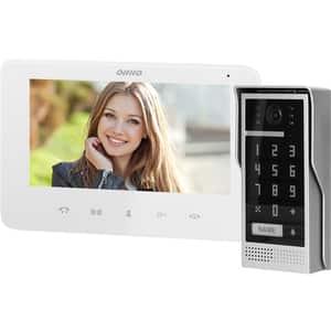 Interfon video cu fir ORNO OR-VID-VP-1073/W,LCD, 7 inch, alb-gri