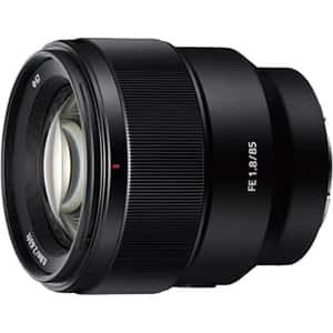 Obiectiv foto SONY SEL85F18.SYX, montura FE, 85 mm f1.8, negru