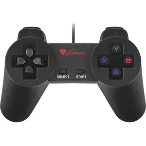 Gamepad NATEC Genesis P10 (PC), negru