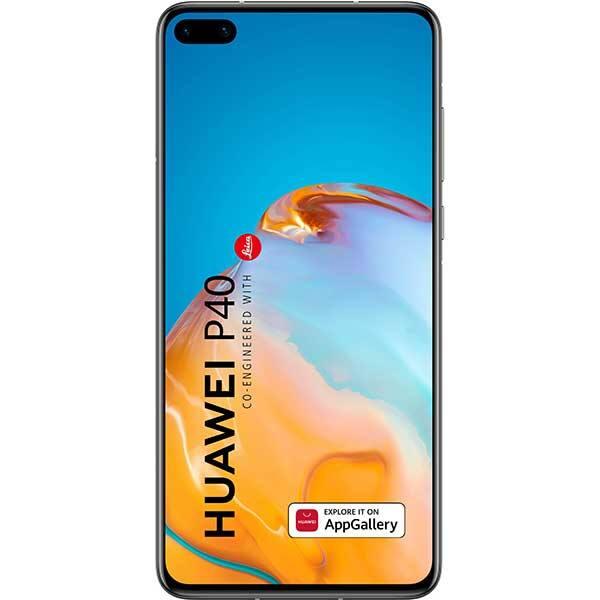 Telefon HUAWEI P40, 128GB, 8GB RAM, Dual SIM, 5G, Black