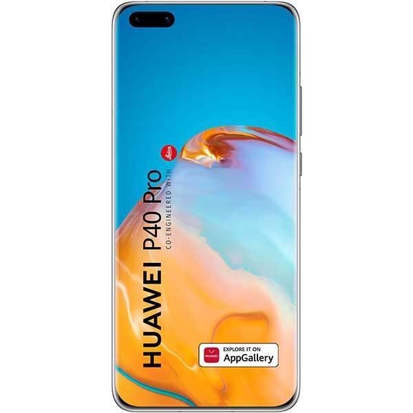 Telefon HUAWEI P40 Pro, 256GB, 8GB RAM, Dual SIM, 5G, Silver Frost