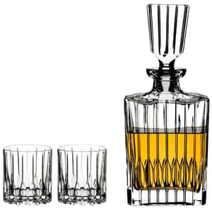 Set RIEDEL Neat Spirits 5460/52: 2 pahare + 1 Decantor