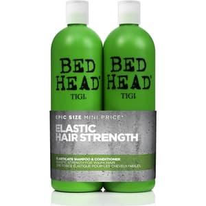 Pachet promo TIGI Bed Head Elasticate: Sampon, 750ml + Balsam de par, 750ml