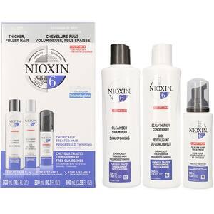 Set NIOXIN Sistem No.6: Sampon, 300ml + Balsam de par, 300ml + Tratament pentru par, 100ml