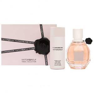 Set cadou VIKTOR & ROLF Flowerbomb: Apa de parfum, 50ml + Lotiune de corp, 50ml