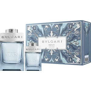 Set cadou BVLGARI Man Glacial Essence: Apa de parfum, 100ml + Mini apa de parfum, 15ml