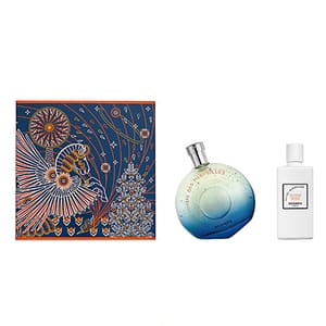 Set cadou HERMES l'Ombre des Merveilles: Apa de parfum, 100ml + Lotiune de corp, 80ml